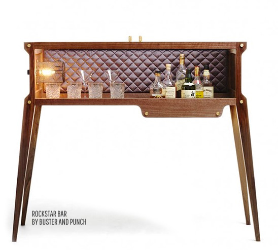 HOME BAR – NOW A FASHION STATEMENT