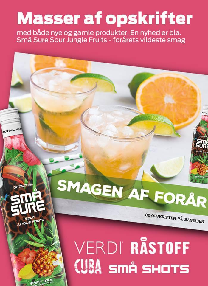 Smagen af forår med drinksopskrifter med både VERDI, RÅSTOFF, SMÅ Shots og CUBA Vodka.