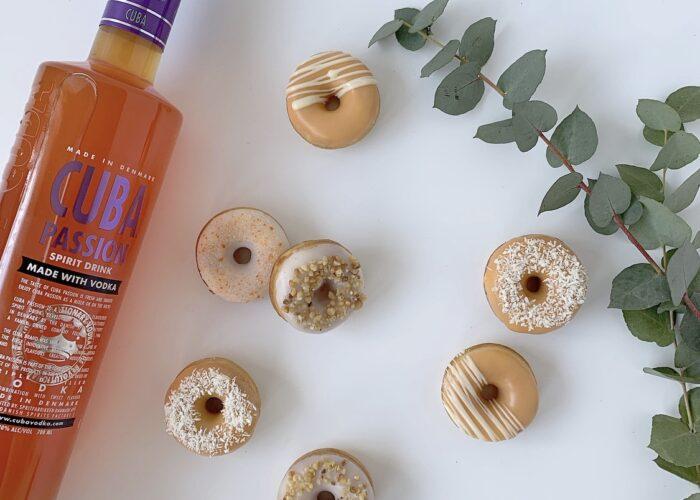 Mini donuts med CUBA Passion