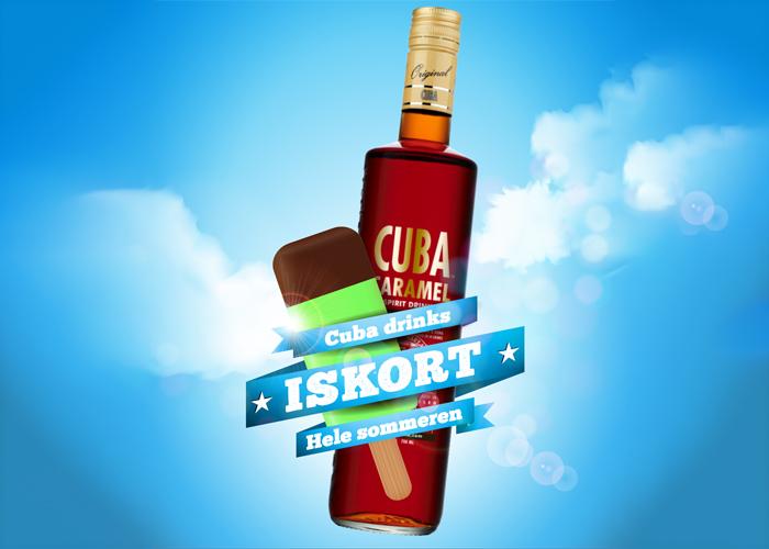 Drinks der smager af kendte is: Københavnerstang, Kæmpe Læske, Astronaut, Solero, Twister, Filur m.fl.