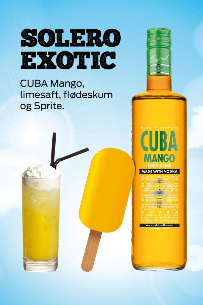 Solero Exotic drink - CUBA iskort