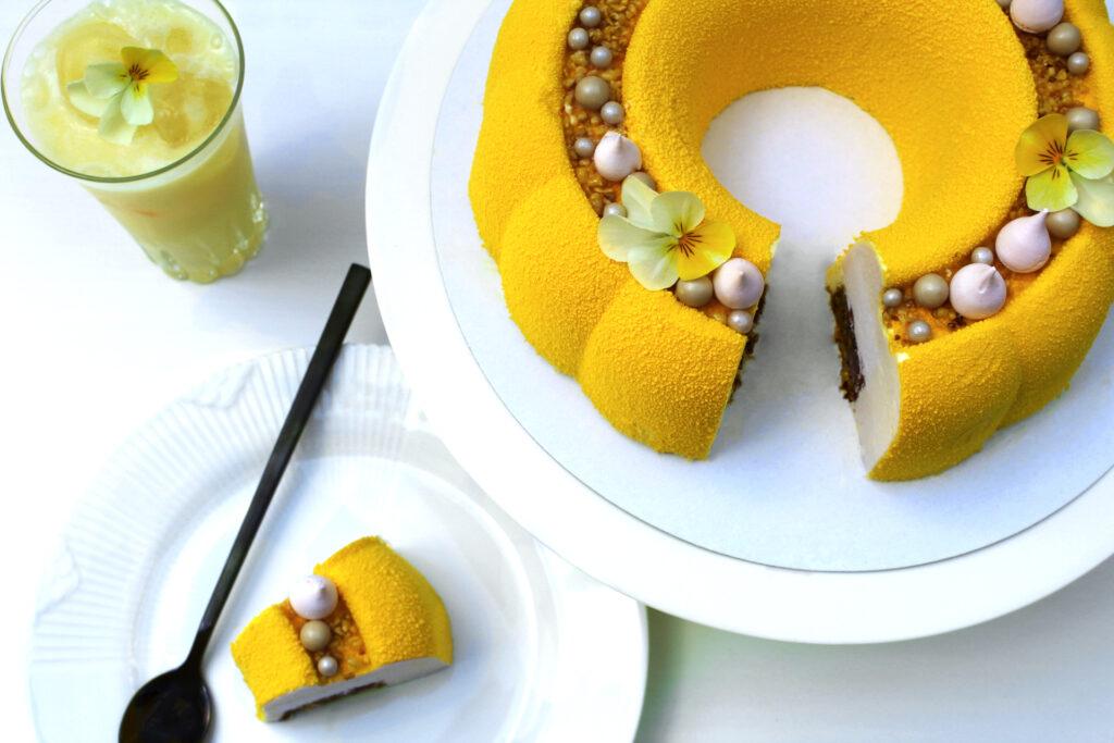 Creamy Solero kage med CUBA Passion. Perfekt til sommeraftener.