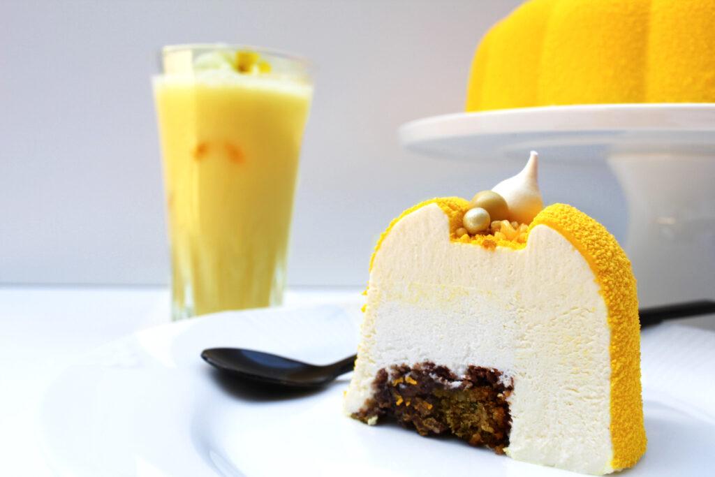 Creamy Solero kage med CUBA Passion. Sommerkage, dessert til festlige begivenheder.